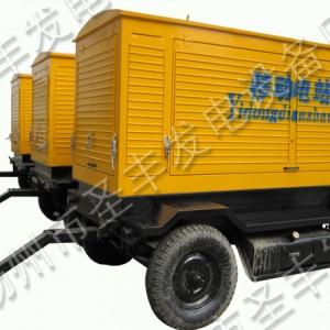 上柴120KW移动式柴油机组