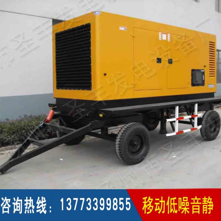 400KW移动四轮低噪音箱体(不含机组)