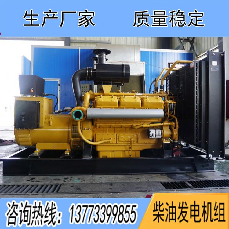 乾能400千瓦柴油机组12V135AZLD
