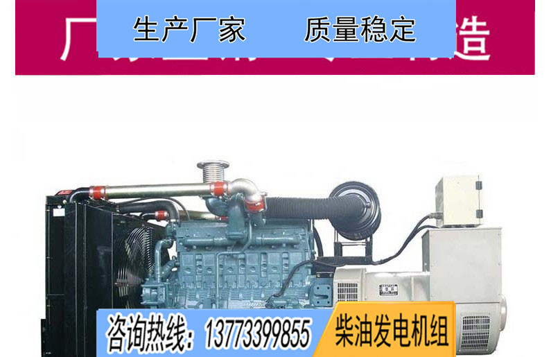 斗山大宇250KW柴油发电机组P126TI