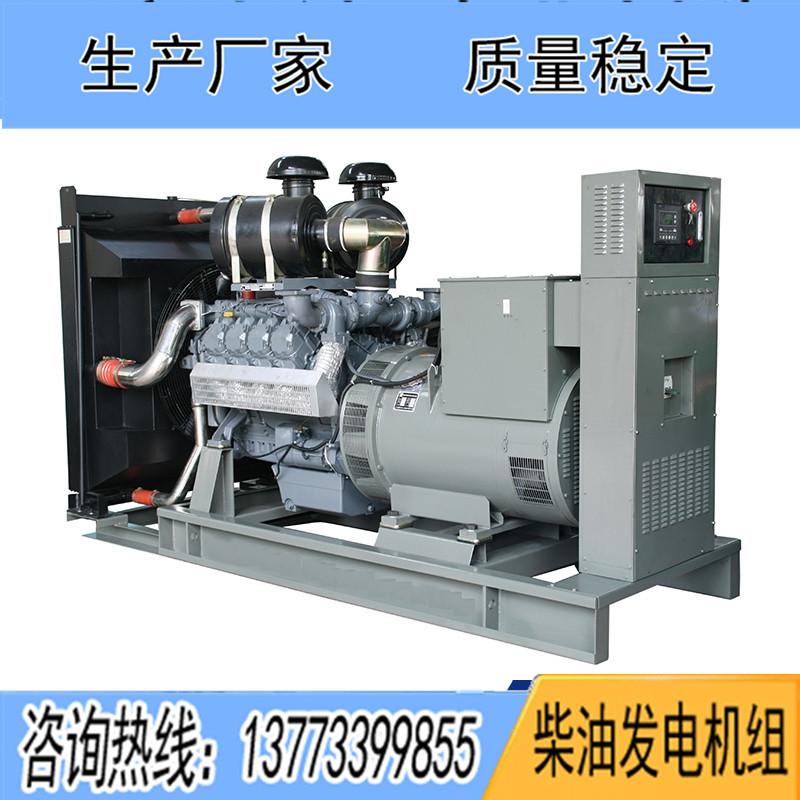 450KW华柴道依茨BF8M1015CP-LA G3柴油发电机组
