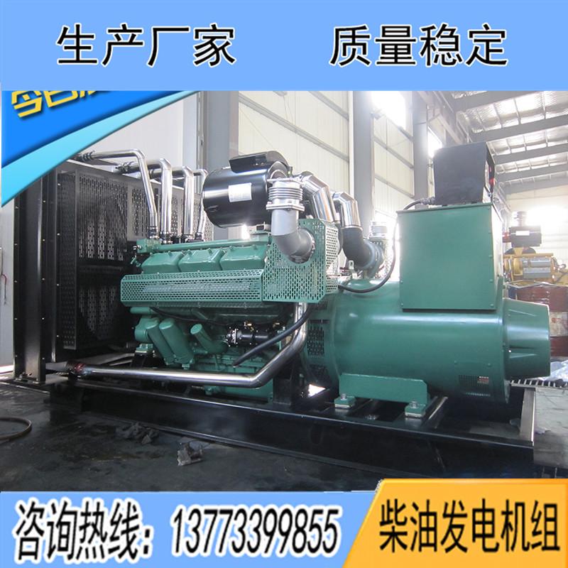 WD180TAD61無錫動力600KW柴油發電機組報價